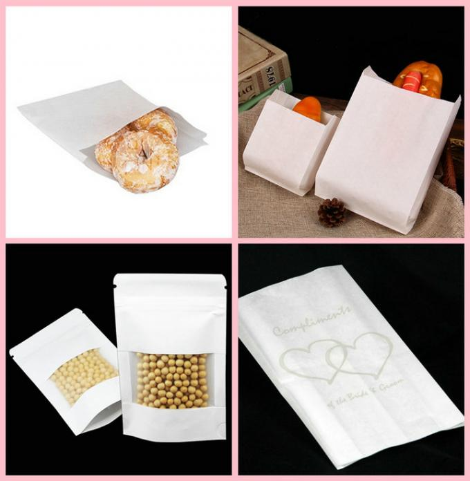 Food Grade Bleached Kraft Paper Roll For Meat Package 60gsm 70gsm 80gsm 120gsm
