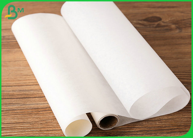 30g 40g White Color Butcher Kraft Paper Roll For food wrapping
