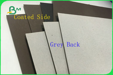 FSC ได้รับการรับรอง C1S Grey Back Coated Duplex Board Jumbo Roll 300g / 350g / 450g